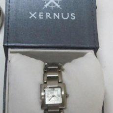 Relojes: RELOJ XERNUS DE MUJER, DE CUARZO (CON ESTUCHE). Lote 99533763
