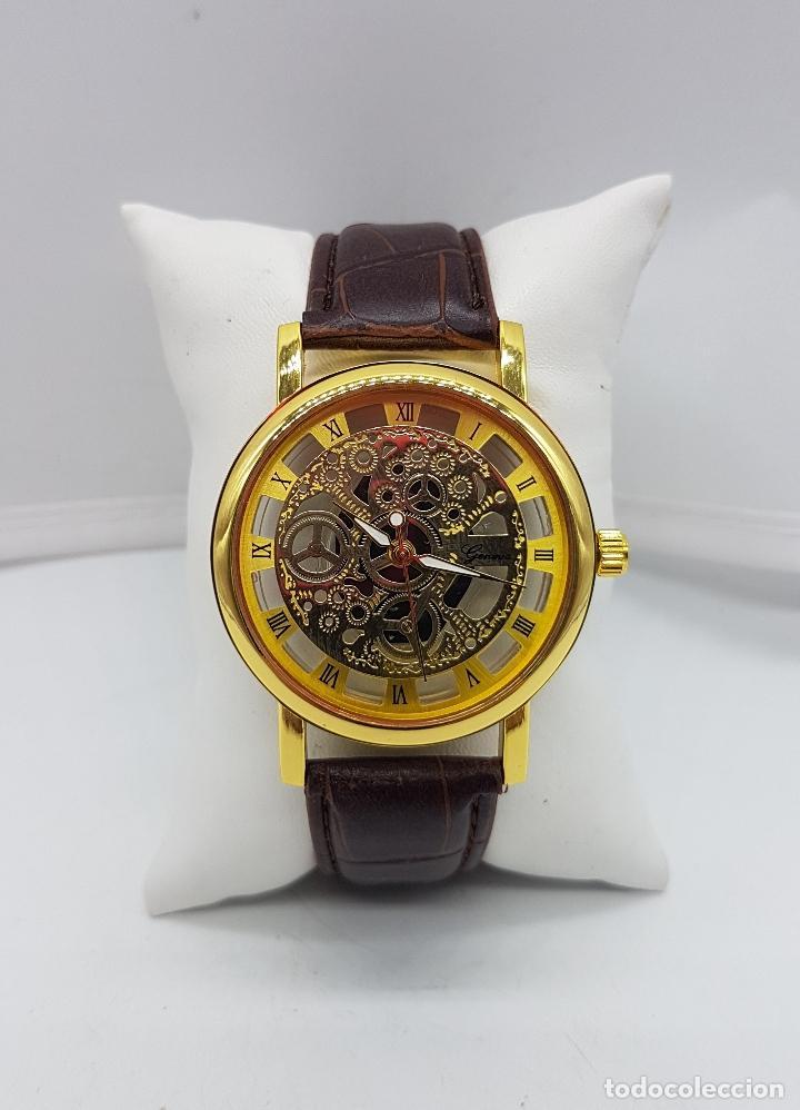 Elegante reloj para caballero con mecanismo vi comprar - Mecanismo reloj pared ...