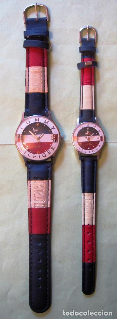 Relojes tommy hilfiger pareja