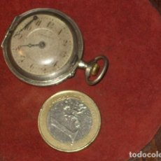 Relojes: RELOJ DE BOLSILLO CYLINDRE 10 RUBIS.PLATA.. Lote 99994535
