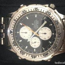 Relojes: RELOJ FESTINA CONOGRAFO EN SU CAJA EN ACERO COMPLETO EN FUNCIONAMIENTO . Lote 100200215