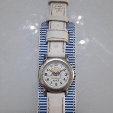Relojes: PRECIOSO RELOJ TOUS ORIGINAL CORREA CUERO VER FOTOS DESCATALOGADO. Lote 100258455