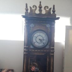 Relojes: PRECIOSO RELOJ DE PARED EN MADERA VER FOTOS . Lote 100259735