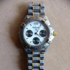 Relojes: RELOJ DE PULSERA BATANE MICRON 23K GOLD PLATED WATER RESISTANT 3 ATM. Lote 100478323