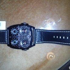 Relojes: RELOJ ESPECTACULAR 4 ESFERAS (NUEVO SIN ESTRENAR). Lote 100646338