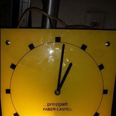 Relojes: RELOJ PUBLICIDAD DE FABER CASTELL. Lote 100693875