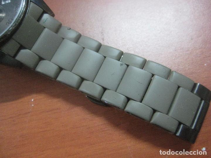 Relojes: RELOJ DE PULSERA DE HOMBRE EMPORIO ARMANI AR-5950 CRONOGRAFO ACERO INOX CON REVESTIMIENTO SILICONA - Foto 6 - 100708203