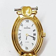 Relojes: RELOJ FESTINA 8637-3 OVALADO DE SEÑORA.. Lote 101560703