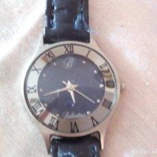 Relojes: RELOJ DE PUBLICIDAD BALLANTINES, CON CORREA DE CUERO.. Lote 101650815