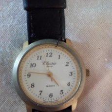 Relojes: RELOJ CLASSIC WATCH QUARTZ CON CORREA DE CUERO.. Lote 101650947