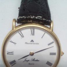 Relojes: RELOJ MAURICE LACROIX CAJA DE ORO DE 18 KT FUNCIONANDO PESO TOTAL 21GR PILA NUEVA. Lote 101990035