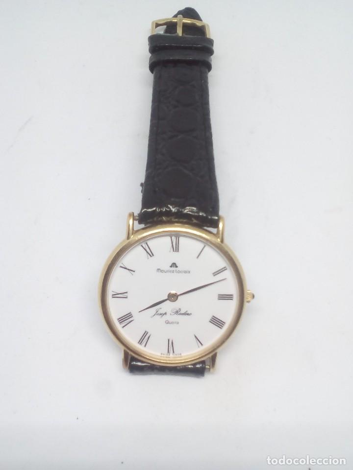 Relojes: RELOJ MAURICE LACROIX CAJA DE ORO DE 18 KT FUNCIONANDO PESO TOTAL 21GR - Foto 2 - 101990035