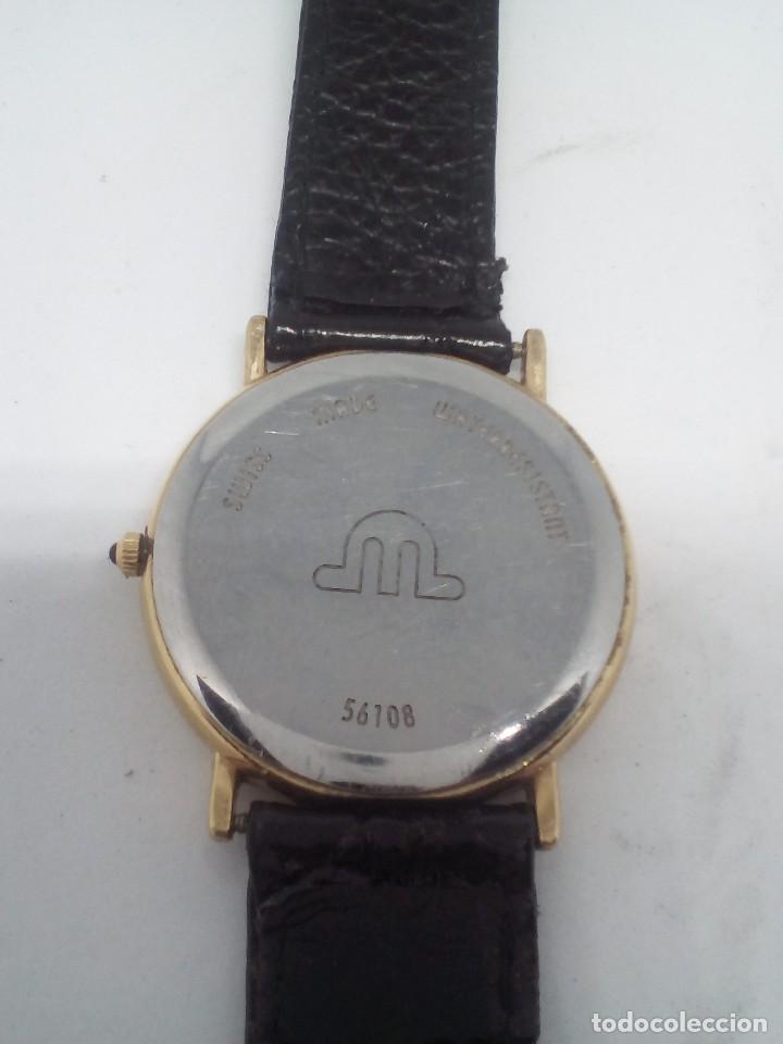 Relojes: RELOJ MAURICE LACROIX CAJA DE ORO DE 18 KT FUNCIONANDO PESO TOTAL 21GR - Foto 4 - 101990035
