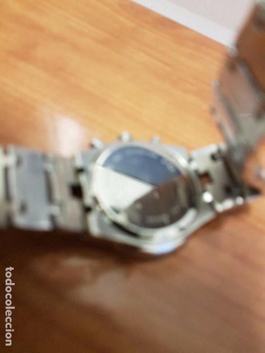 Relojes: Reloj caballero marca KALTER acero cronografo 100 metros de cuarzo, correa de acero original - Foto 22 - 102378647