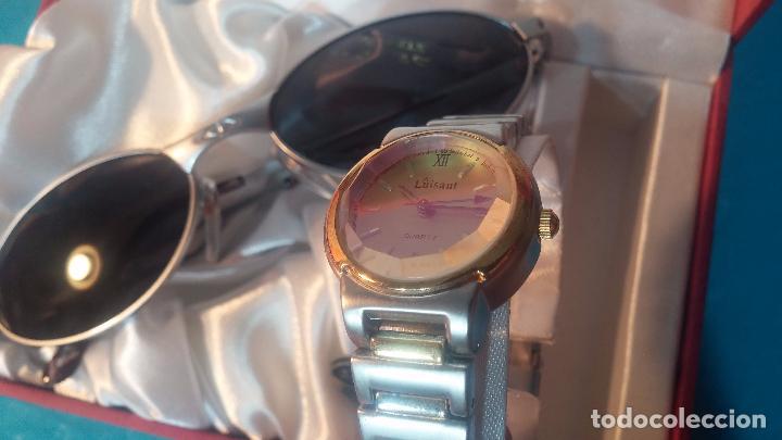 Relojes: Botito conjunto formado por reloj y gafas, stop de tienda, P.V.P en su día de 250 dolares - Foto 15 - 102402191