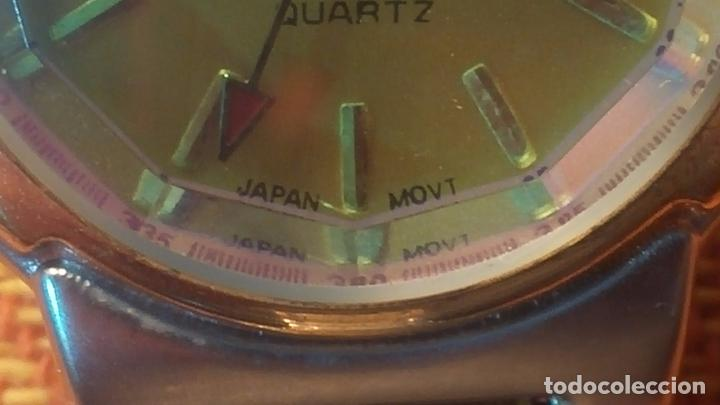 Relojes: Botito conjunto formado por reloj y gafas, stop de tienda, P.V.P en su día de 250 dolares - Foto 17 - 102402191