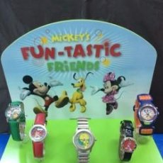 Relojes: EXPOSITOR RELOJ DISNEY ¡ PARA 5 RELOJES !. Lote 102536711