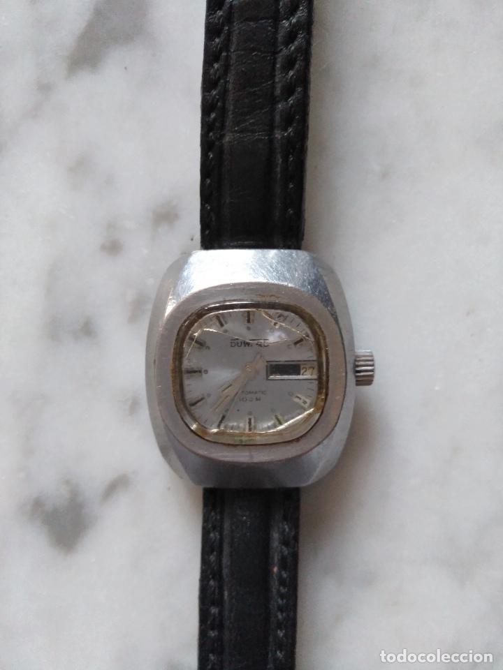 Relojes: ANTIGUO RELOJ DUWARD AUTOMATICO 100 M DE SEÑORA. FUNCIONANDO. - Foto 4 - 103110439