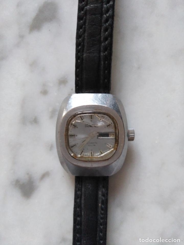 Relojes: ANTIGUO RELOJ DUWARD AUTOMATICO 100 M DE SEÑORA. FUNCIONANDO. - Foto 5 - 103110439