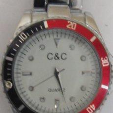 Relojes: RELOJ NUEVO DE CUARZO,GIRA LA RUEDA DE MEDIDA SIN USAR CORREA METALICA. Lote 103512227