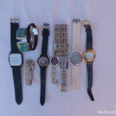 Relojes: LOTE DE 10 RELOJES USADOS,¡SIN FUNCIONAR!. Lote 103596871