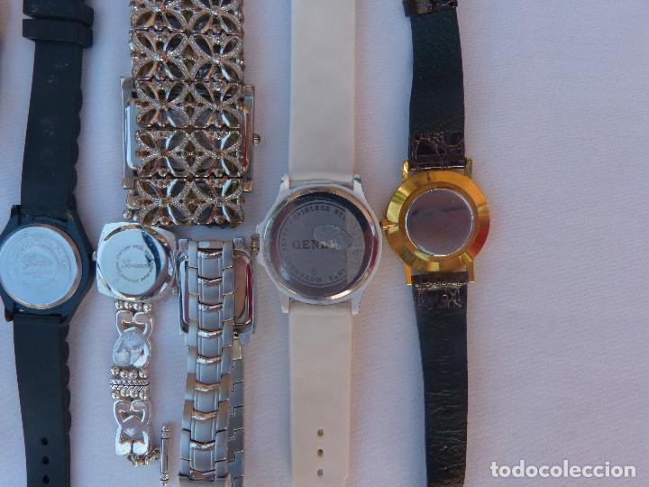 Relojes: Lote de 10 relojes usados,¡SIN FUNCIONAR! - Foto 2 - 103596871