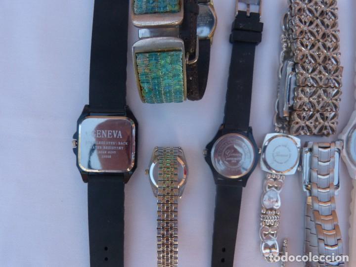 Relojes: Lote de 10 relojes usados,¡SIN FUNCIONAR! - Foto 3 - 103596871