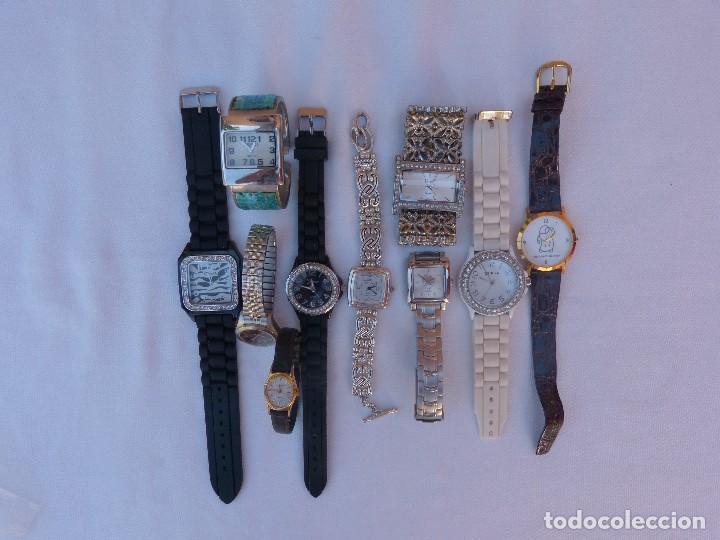 Relojes: Lote de 10 relojes usados,¡SIN FUNCIONAR! - Foto 4 - 103596871