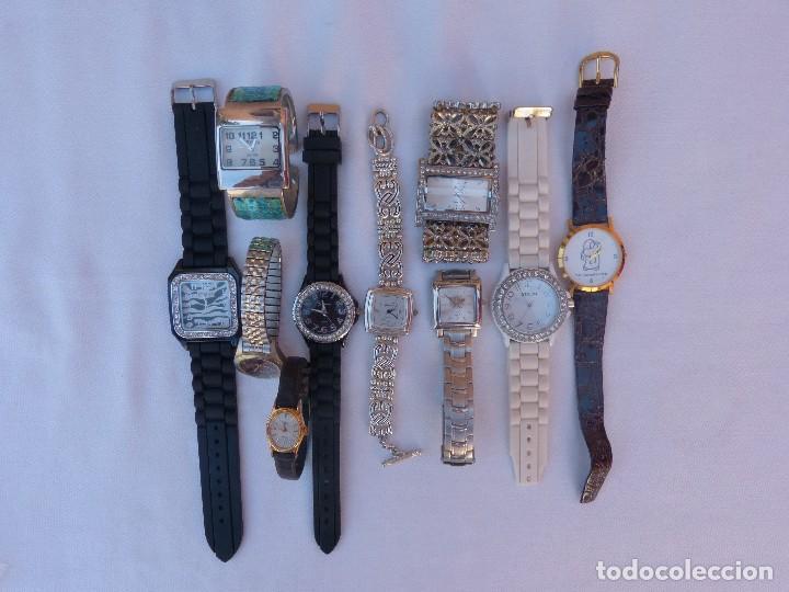 Relojes: Lote de 10 relojes usados,¡SIN FUNCIONAR! - Foto 5 - 103596871