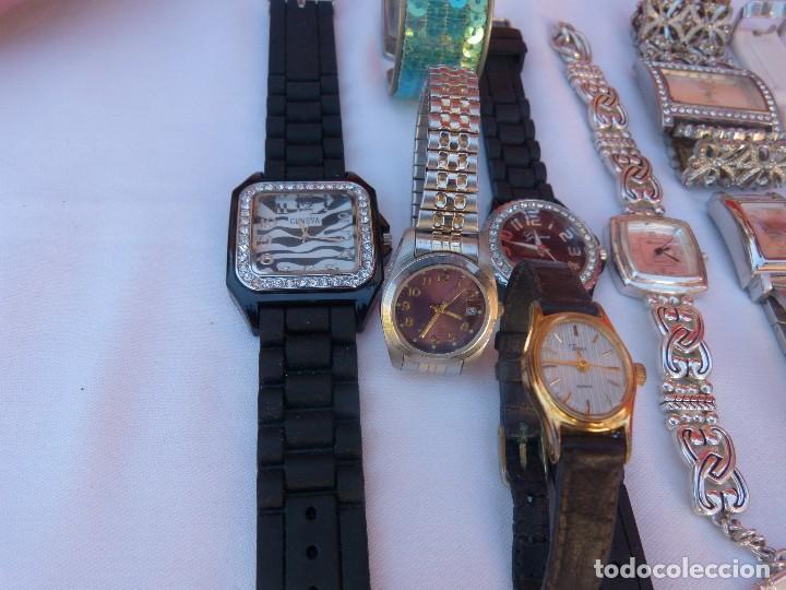 Relojes: Lote de 10 relojes usados,¡SIN FUNCIONAR! - Foto 6 - 103596871