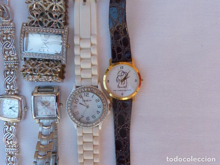 Relojes: Lote de 10 relojes usados,¡SIN FUNCIONAR! - Foto 7 - 103596871