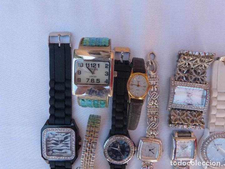 Relojes: Lote de 10 relojes usados,¡SIN FUNCIONAR! - Foto 8 - 103596871