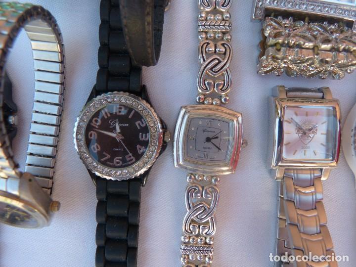 Relojes: Lote de 10 relojes usados,¡SIN FUNCIONAR! - Foto 9 - 103596871