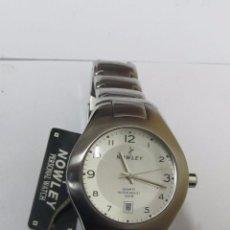 Relojes: RELOJ NOWLEY DE CUARZO CON CALENDARIO. Lote 107693539