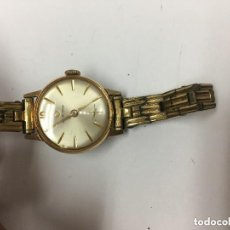 Relojes: RELOJ CERTINA CHAPADO EN ORO MANUALCON CORREA ORIGINAL DE EPOCA. Lote 103610007
