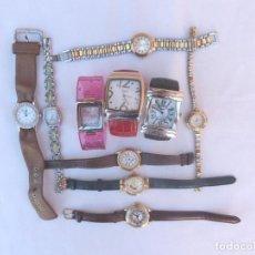 Relojes: LOTE DE 10 RELOJES USADOS,¡SIN FUNCIONAR!. Lote 103749079