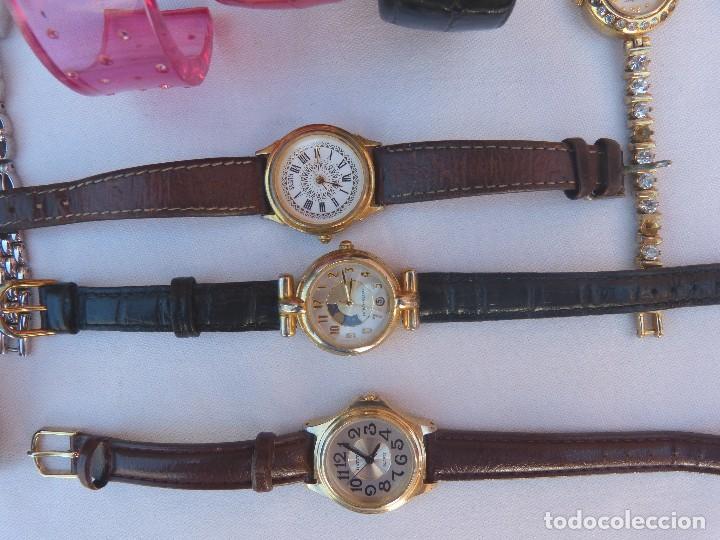 Relojes: Lote de 10 relojes usados,¡SIN FUNCIONAR! - Foto 2 - 103749079