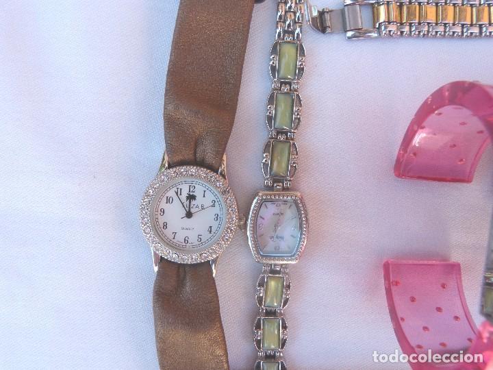 Relojes: Lote de 10 relojes usados,¡SIN FUNCIONAR! - Foto 4 - 103749079