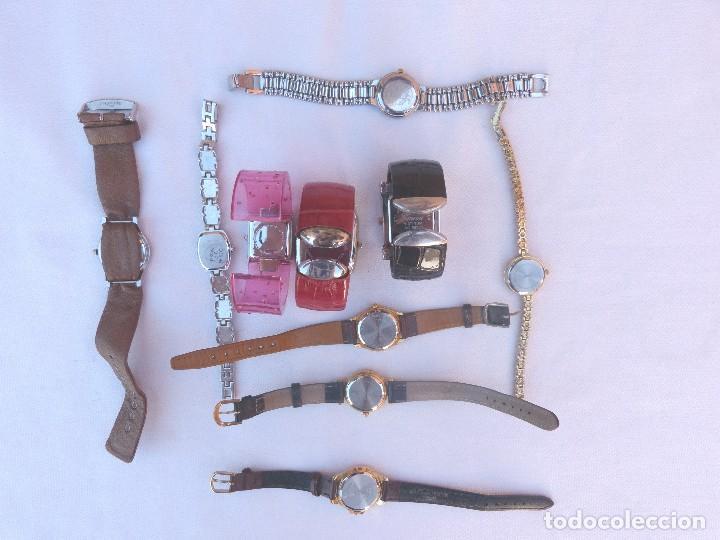 Relojes: Lote de 10 relojes usados,¡SIN FUNCIONAR! - Foto 6 - 103749079