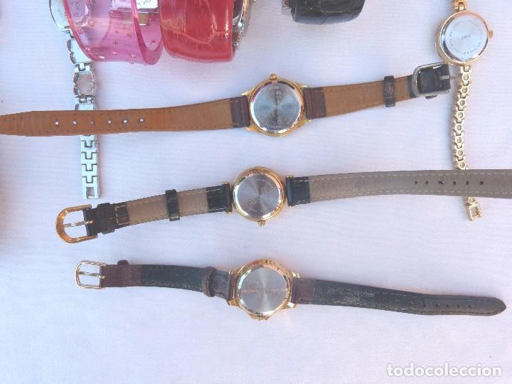 Relojes: Lote de 10 relojes usados,¡SIN FUNCIONAR! - Foto 7 - 103749079