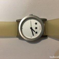 Relojes: RELOJ MARLIN BARCELONA SIN ESTRENAR AÑOS 90 EN ACERO Y CORREA DE SILICONA . Lote 103857599