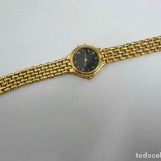 Relojes: RELOJ DE MUJER - YVES RENOIR - CHAPADO EN ORO - CUARZO - FUNCIONA - AÑOS 90. Lote 103908331