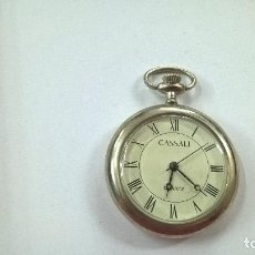 Relojes: RELOJ DE BOLSILLO DE COLECCIÓN CASSALI QUARTZ. NECESITA PILA-N. Lote 103923603