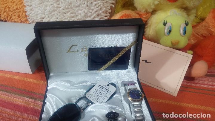 Relojes: Botito set de reloj y gafas, stock de tienda, valorado en su día en 250 dorales, ideal regalo navite - Foto 3 - 103998531