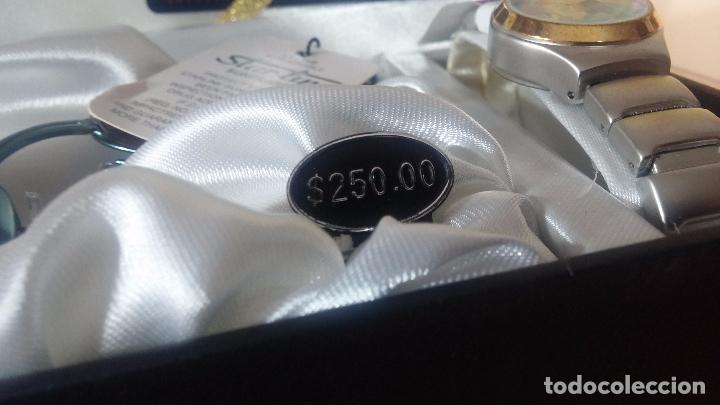 Relojes: Botito set de reloj y gafas, stock de tienda, valorado en su día en 250 dorales, ideal regalo navite - Foto 4 - 103998531