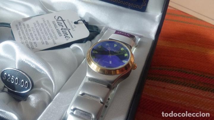 Relojes: Botito set de reloj y gafas, stock de tienda, valorado en su día en 250 dorales, ideal regalo navite - Foto 6 - 103998531