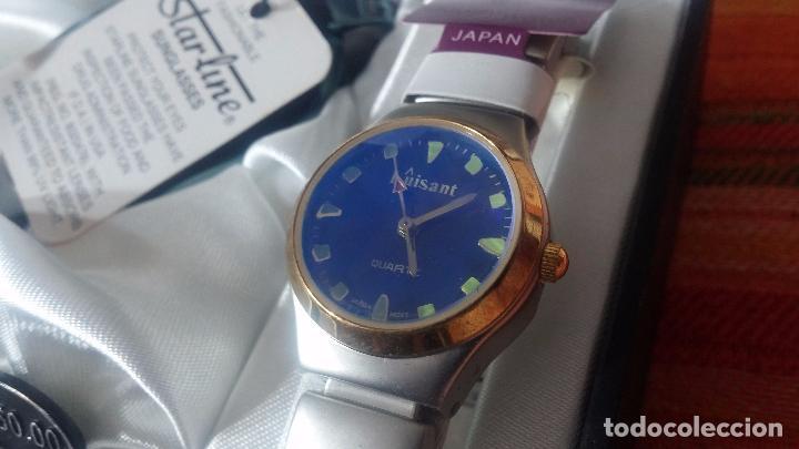 Relojes: Botito set de reloj y gafas, stock de tienda, valorado en su día en 250 dorales, ideal regalo navite - Foto 7 - 103998531