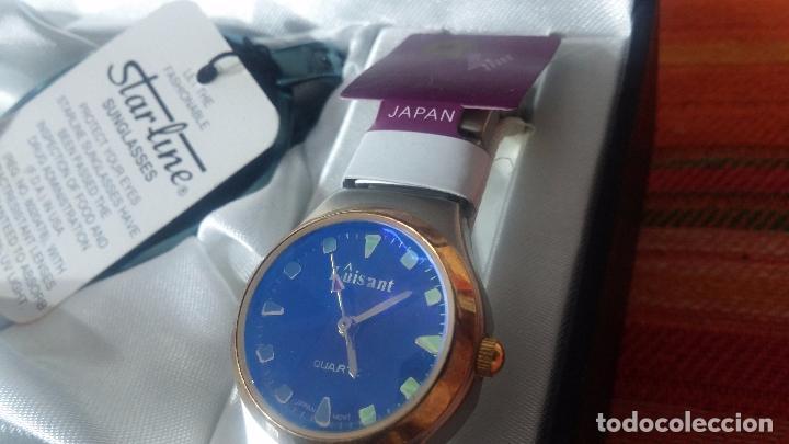 Relojes: Botito set de reloj y gafas, stock de tienda, valorado en su día en 250 dorales, ideal regalo navite - Foto 8 - 103998531