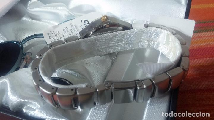 Relojes: Botito set de reloj y gafas, stock de tienda, valorado en su día en 250 dorales, ideal regalo navite - Foto 16 - 103998531