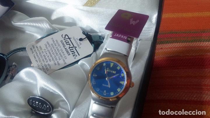 Relojes: Botito set de reloj y gafas, stock de tienda, valorado en su día en 250 dorales, ideal regalo navite - Foto 18 - 103998531